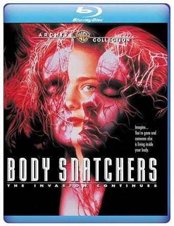 Abel Ferrara's Body Snatchers Blu-ray