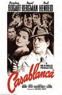 Casablanca One Sheet 24 x 36 Inch Movie Poster