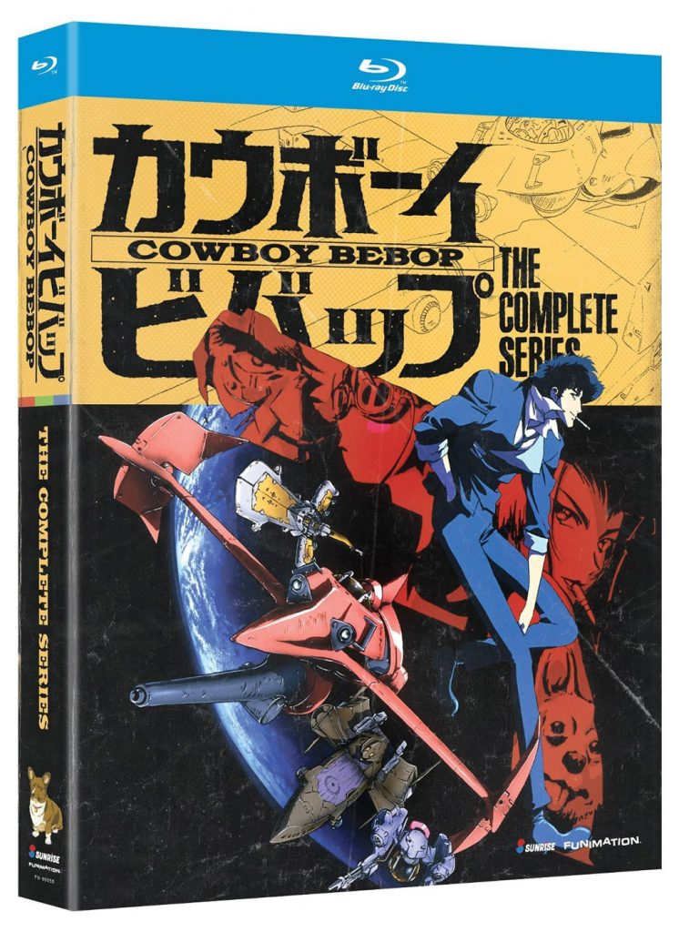 Cowboy Bebop: The Complete Series Blu-ray Box Set with Slipcover