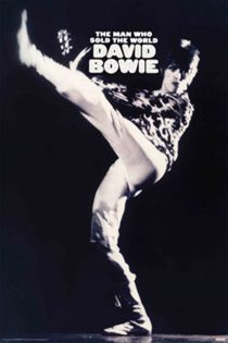 David Bowie – The Man Who Sold the World 24 x 36 inch Music Poster