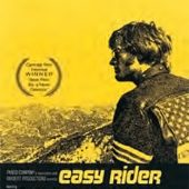 Easy Rider Black & Yellow 24 x 36 Inch One Sheet Movie Poster