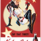 Fallout 4 – Nuka Cola 24 X 36 inch Video Game Poster