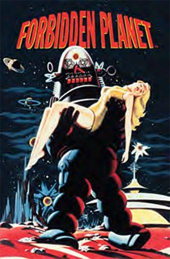 Forbidden Planet 24 x 36 Inch Movie Poster