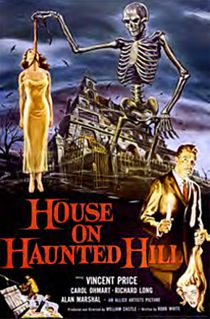 House on Haunted Hill 24 x 36 Inch Movie Poster
