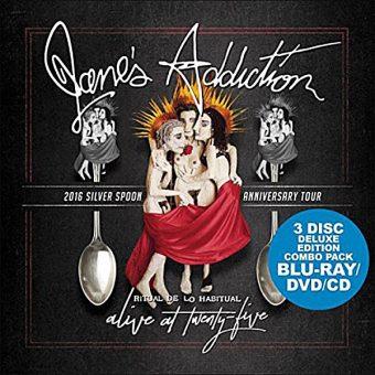 Jane's Addiction – Alive at Twenty-Five 2016 Silver Spoon Anniversary Tour [Blu-ray/DVD/CD] 3-Disc Set
