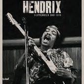 Jimi Hendrix in Copenhagen, Denmark September 3rd, 1970 Music Poster 24 x 36 Inch