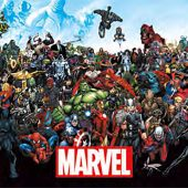 Marvel Universe Lineup 35 x 23 Inch Comics Poster