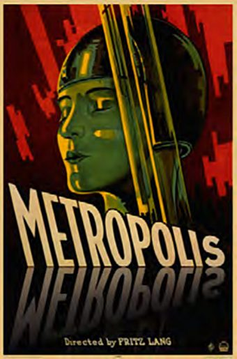 Metropolis Directed by Fritz Lang 24 x 36 Inch Movie Poster