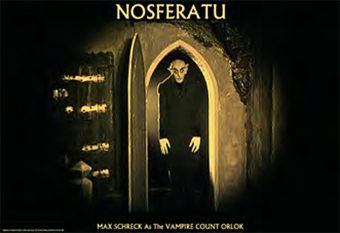 Nosferatu with Max Schreck 36 x 24 Inch Movie Poster