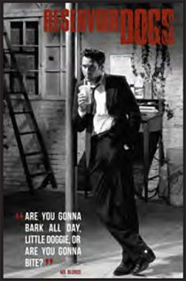 Reservoir Dogs – Mr. Blonde Portrait 24 x 36 Inch Movie Poster