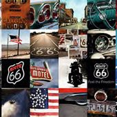 Route 66 Collage Photos 36 x 24 inch Poster