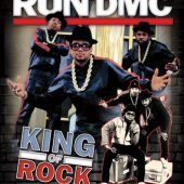 Run DMC King of Rock 23 x 35 inch Music Poster