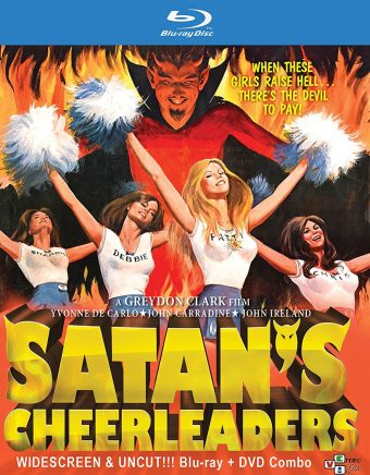 Satan's Cheerleaders Widescreen Blu-ray + DVD Combo Set