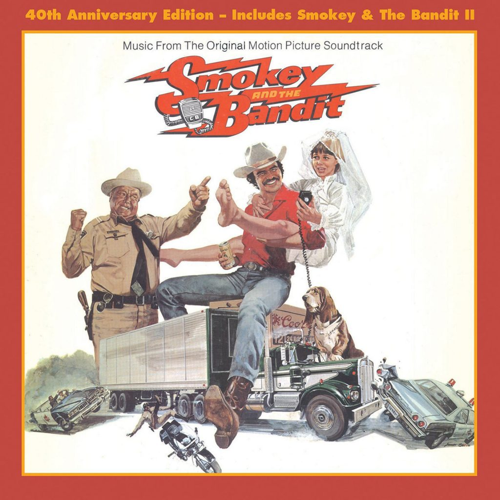 Smokey and the Bandit Soundtrack Parts I & II 40th Anniversary CD Release