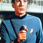 Star Trek: The Original Series Spock Portrait 24 x 36 Inch Television Poster