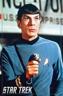 Star Trek: The Original Series Spock Portrait 24 x 36 Inch Television Poster