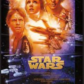 Star Wars Episode IV: A New Hope Drew Struzan Painted 23 x 35 Inch Movie Poster