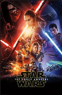 Star Wars: Episode VII – The Force Awakens One Sheet 23 x 35 Inch Movie Poster
