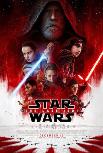 Star Wars: The Last Jedi 22 X 34 inch One Sheet Movie Poster
