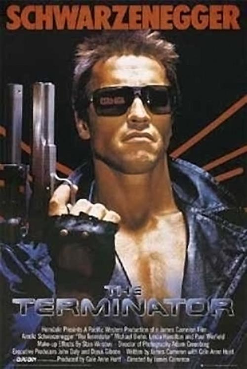 James Cameron's The Terminator – Arnold Schwarzenegger 24 x 36 inch Movie Poster