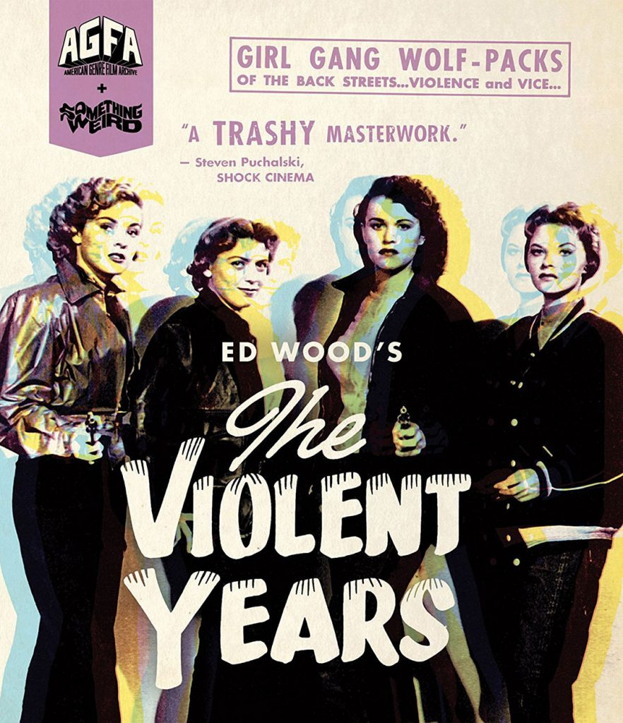 The Violent Years + Anatomy of a Psycho Special Edition Blu-ray AGFA & Something Weird