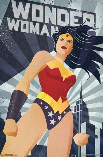 Wonder Woman – Constructivism 22 x 34 inch Character Poster