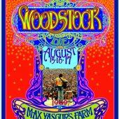 Woodstock Music Festival at Max Yasgur's Farm in Catskills, New York 1969 Bob Masse 18 x 24 inch Rock Concert Poster