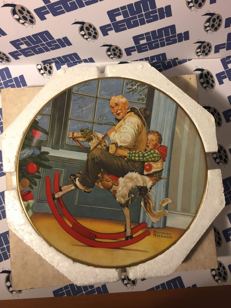 Official Norman Rockwell Christmas Plate 1976 – Royal Devon | Film ...
