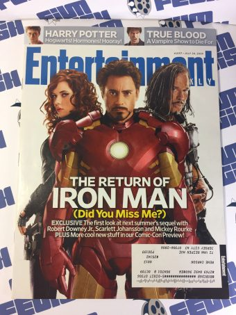 Entertainment Weekly Issue No. 1057 – July 24, 2009 – The Return of Iron Man, Comic-Con Preview