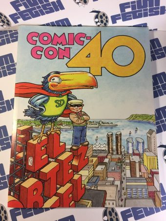 40th San Diego Comic-Con International Souvenir Book