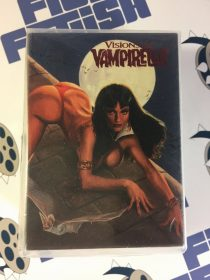 Vampirella 90-Pack Red Foil Stamped Topps Trading Card Set Featuring Art by Frank Frazetta, John Bolton and Many More (1995)