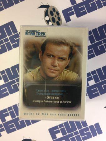 The Quotable Star Trek Original Series Trading Card Set 110-Pack (Rittenhouse Archives, 2004)