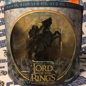 Rare – The Lord of the Rings Warriors and Battle Beasts – Ringwraith On Rearing Horse Action Figure Limited Edition [Play Along Toys]