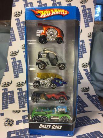 Hot Wheels Crazy Cars 5-Pack K6178 (2007)