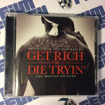 Get Rich Or Die Tryin' Music From or Inspired by the Motion Picture Soundtrack CD + Liner Notes Booklet