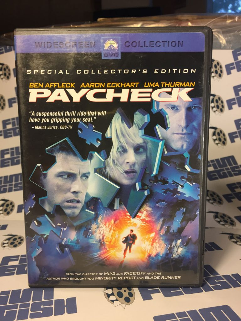 Paycheck Special 2-Disc Collector's Edition DVD (2004)