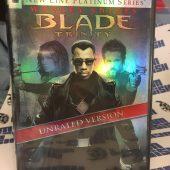 Blade Trinity Unrated Version – New Line Cinema Platinum Series + Exclusive Comic (2007)