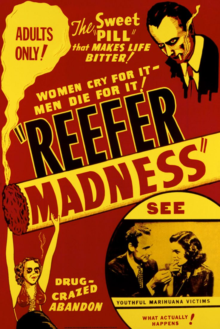 Reefer Madness 24 x 36 inch Movie Poster