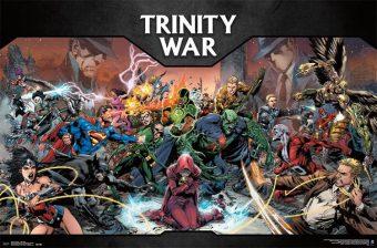 DC Comics Trinity War 35 x 23 inch Poster