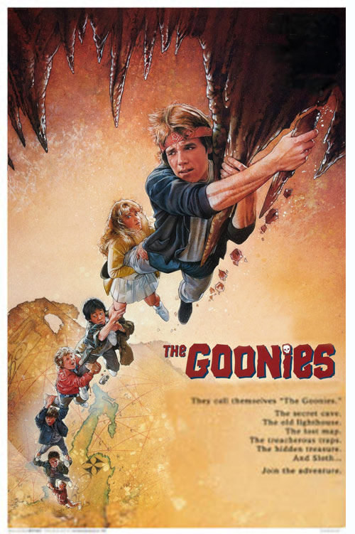 The Goonies Climbing One Sheet 24 x 36 inch Movie Poster