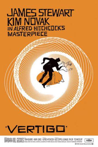Alfred Hitchcock's Vertigo 24 x 36 inch Movie Poster