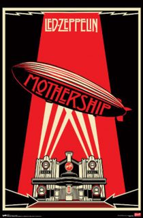 Led Zeppelin Mothership 24 x 36 inch Rock Music Poster