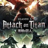 Attack on Titan Season 2 Key Art 24 X 36 inch Poster