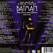 Batman: The Animated Series Second Edition 2-CD Set – Original Soundtrack from the Warner Bros. Television Series