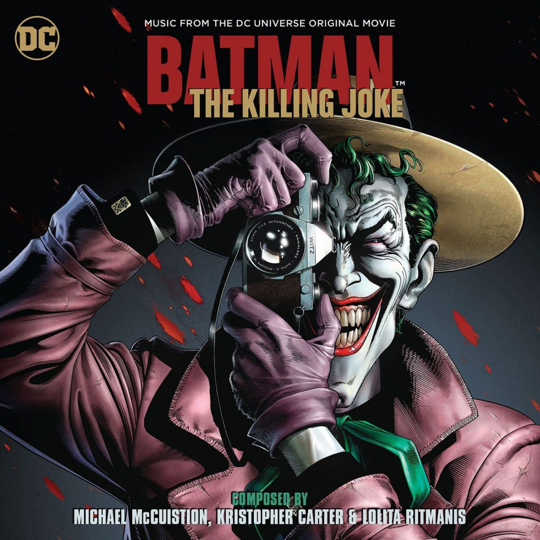 Batman: The Killing Joke – Music from the DC Universe Original Animated Movie Limited Edition
