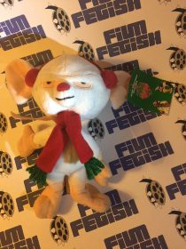 The Brain Christmas Bean Bag 8 inch Plush Doll Animaniacs (1998)
