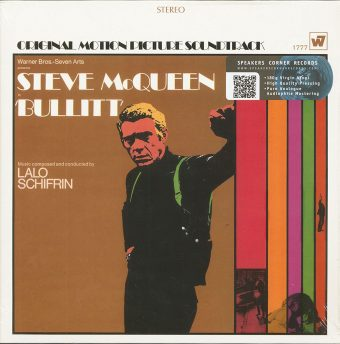 Steve McQueen Bullitt Original Motion Picture Soundtrack 180-Gram Vinyl Album