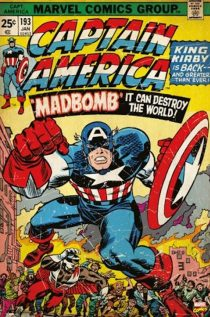 Captain America – Madbomb Marvel Comic Book Cover 24 X 36 inch Poster