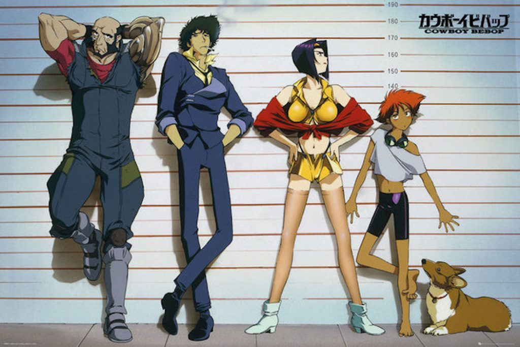 Cowboy Bebop Character Lineup 36 X 24 inch Poster