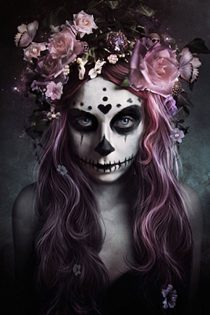 Dia de Muertos – The Day of the Dead 24 X 36 inch Poster